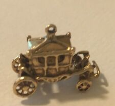 14K  GOLD CARRIAGE  VINTAGE CHARM 3.65 GRAMS