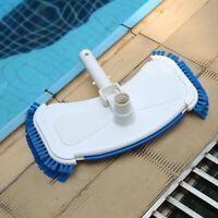 Swimming Pool Algae Cleaning Plastic Suction Vacuum Head Brush Above Ground Tool