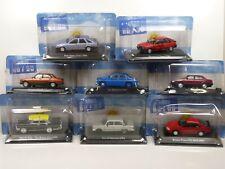 KAS20 LOT de 8 voitures ARGENTINE 1/43 collection cassés broken models rotos