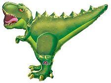 "T- Rex Dinosaur 36""Jumbo Foil Balloon Birthday Decorations Party Supplies Favors"