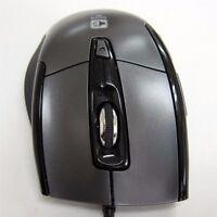 JSCO 101K Geräuschlos optische USB 1600dpi Spiel Computer Rad Maus Silent Mouse