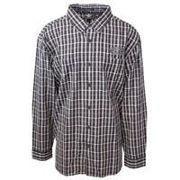 Harley-Davidson Men's Black Grey Plaid L/S Woven Shirt (S03)
