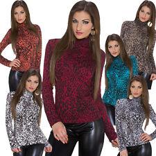 Klassische Damenblusen, - tops & -shirts aus Viskose mit Tiermuster