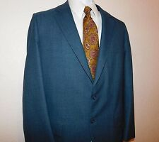 Botany 500 by Daroff  Harris & Frank Blue Suit Blazer and Pants 41 R