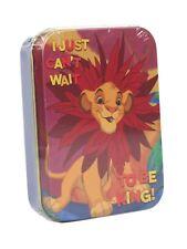 Genuine Disney The Lion King Simba 2oz Collectors Tin Storage Keepsake Retro