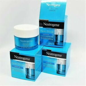 LOT OF 4 - Neutrogena Hydro Boost WATER GEL Facial Moisturizer 1.7 oz, EXP: 2023