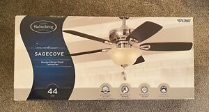 """Harbor Breeze SageCove 44"""" Ceiling Fan, Brushed Nickel, Free Shipping!"""