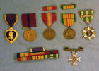 GREAT 'Nam US Marine WIA corporal medals/ribbons group!