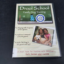 Drool School: Family Dog Training   Free Shipping Ex Library DVD