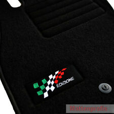 Velours Fußmatten Edition Autoteppiche für Fiat 199 Grande Punto ab Bj.10/2005 -