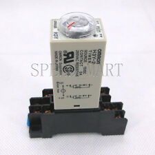 Time Relay Delay DC12V H3Y-2 Power On Timer 0~60 Minute DPDT & Base Socket