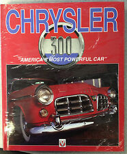 """Chrysler 300 """"America's Most Powerful Car"""" HARDCOVER  Rob Ackerson 1-874105-65-0"""