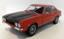 Minichamps 1/18 Scale Diecast - 150 089076 Ford Capri MK1 RS 2600 1970 Red Blk