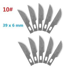10pcs #10 Replacement Hobby Classic Fine Point Blades high steel Craft Knife