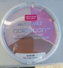 """WET N Wild coloricon  Blush & glow trio"""" fair trade coffee"""" 34518 ,0.47 oz/ 12g"""