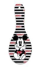 Classic Disney Mickey Mouse Stripes Ceramic Kitchen Spoon Rest