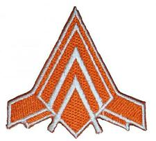 Battlestar Galactica Viper Wing Embroidered Patch Sew/Iron-on 6.5cm Badge