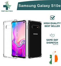 Samsung Galaxy S10e Case Cover ShockProof Soft Phone Clear TPU Silicone Cover