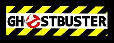 "Ghostbusters Bumper Sticker Decal LARGE 3""x10"", Retro 80's"