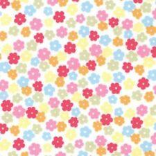 Cotton Poplin Fabric Material - Multicoloured Floral - 269