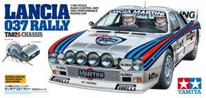 58654 Tamiya 1/10 RC Car Lancia 037 Rally TA02-S Model Car Kit Retro 2021