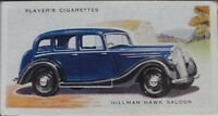 No.22 HILLMAN HAWK SALOON - MOTOR CARS 2nd SERIES - Player 1937