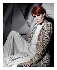 FLORENCE AND THE MACHINE SIGNED AUTOGRAPHED A4 PP PHOTO POSTER