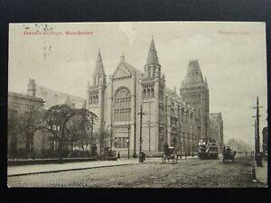 Manchester OWENS COLLEGE c1902 UB Postcard by Valentine