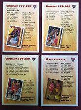 1994 Basketball Cards - Checklist/Specials - COMPLETE SET