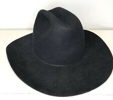 VINTAGE Beaver Brand Western Hat 7 3/8 - 59 Oval Made In USA