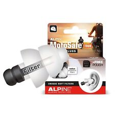Alpine Motosafe Tour Motorcycle Earplugs Reusable Hearing Protection
