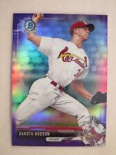 2017 Bowman Chrome Purple Refractor Dakota Hudson BCP205 Cardinals #204/250