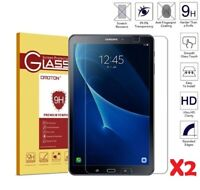"""2PC TEMPERED GLASS SCREEN PROTECTOR LCD FOR SAMSUNG GALAXY TAB A 10.1"""" T580 T585"""