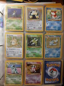 💥 Lotto carte pokemon set jungle 💥 8 cards lot ⭐ 5 holo  ⭐