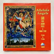 Alleluia Angels by Kinuk Y. Craft 500 Piece Jigsaw Puzzle SunsOut Made In USA