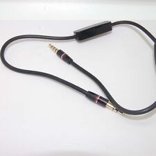 "3.5mm 1/8"" Audio Cable Cord w MIC For V-Moda Crossfade M-80 M-100 Headphone bx"