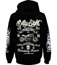 Sweat capuche Billy Eight fermeture zip  -*- Speedway Races  -*-