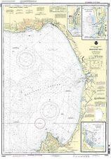NOAA Chart Monterey Bay/Harbor; Moss Landing and Santa Cruz Small Craft Harbor