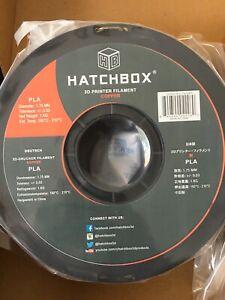 Hatchbox PLA 3D Printer Filament 1.75mm Copper, 1Kg Spool NEW (print 180°-210°C)