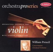 Orchestral Excerpts for Violin (CD, Nov-1998, Summit Records)