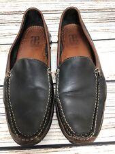 Mens ALLEN EDMONDS 'Boulder' Brown & Black Leather Loafers Shoes US 10.5 D