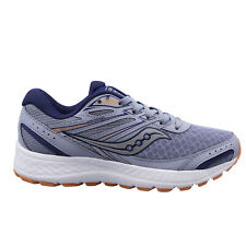 Saucony Cohesion 13 Blue Low Lace Up Womens Trainers Running Shoes S10559 3