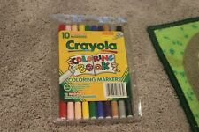 1997 Crayola 10 Coloring Book Markers Never Used! RARE OOP!