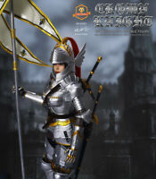SGTOYS EK001 Female KNIGHT with Metal Armor 1/6 Action Figure