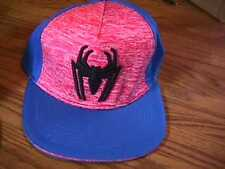NEW SPIDERMAN BASEBALL CAP SIZE YOUTH L-XL 8+ YEARS SNAPBACK