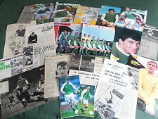 HIBERNIAN - FOOTBALL CLUB - CLIPPINGS/ CUTTINGS PACK-PICTURES AND ARTICLES
