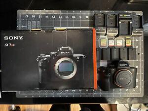 Sony Alpha A7R II 42.4 MP Mirrorless Digital Camera - Black BUNDLE