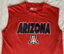 Russell Athletic University of Arizona Sleeveless Sport Shirt - Medium