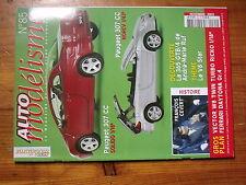 $$o Revue Auto modélisme N°85 Francois Cevert  Peugeot 307 CC  Ferrari Daytona