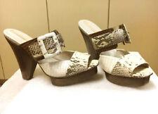"BCBG MAXAZRIA ""MA-NIEVE"" FLOOR SAMPLE WOMEN'S SLIP ON HEEL SHOE SZ  US 9B/EUR 39"